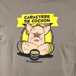 T-shirt Hénaff Caractère de cochon
