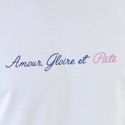 T-shirt Hénaff Amour Gloire et Pâté