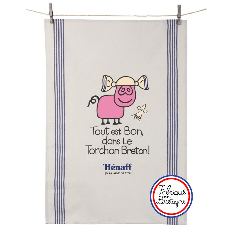 """Torchon Hénaff """"Tout est Bon dans le Torchon Breton !"""""""