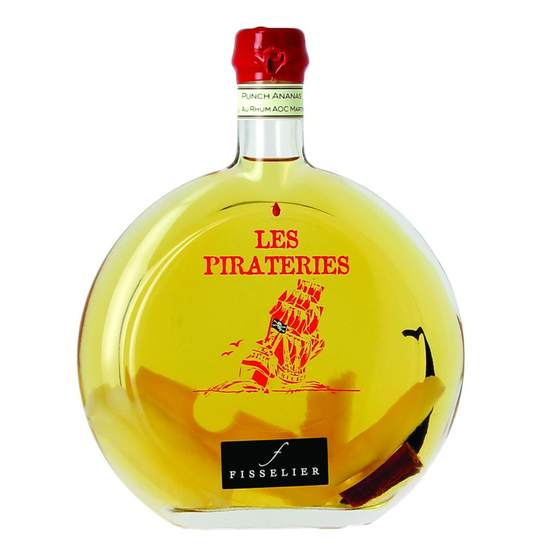 Rhum arrangé - Pirateries Ananas 50 cl