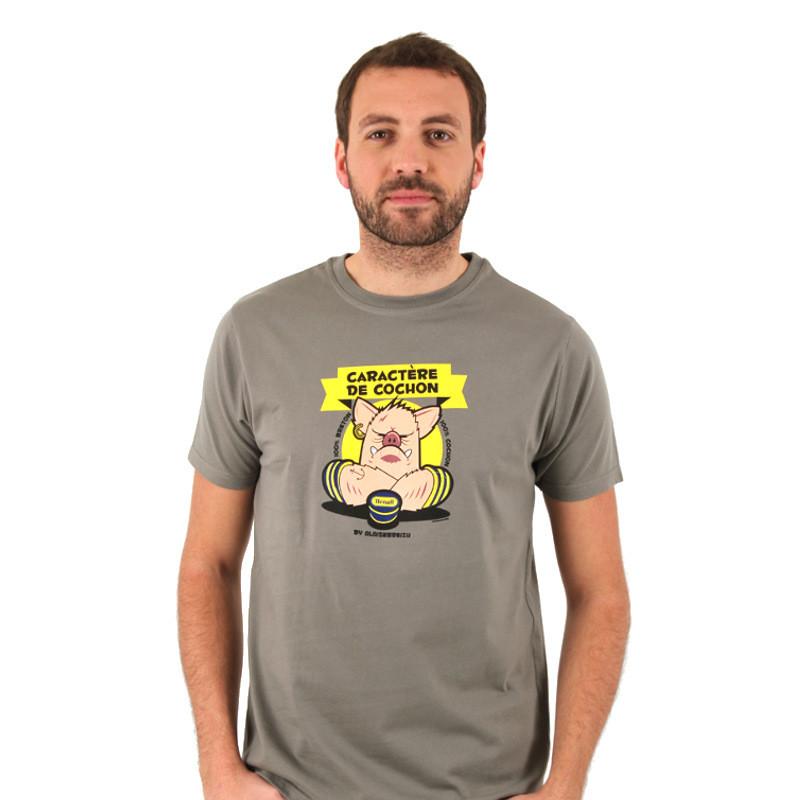 """T-Shirt """"Caractère de Cochon"""" - L"""