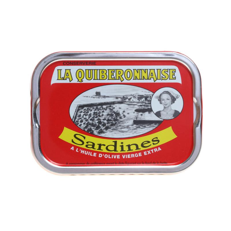 Sardines à l'huile d'olive vierge extra - 115g