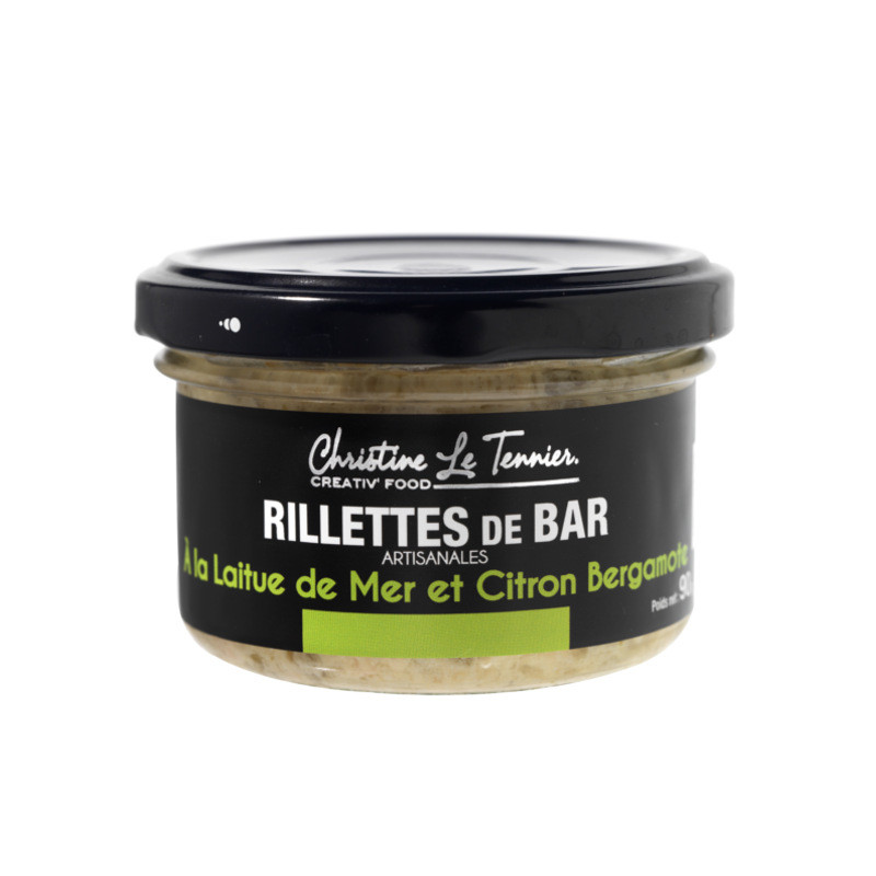 Rillettes de bar - 90g