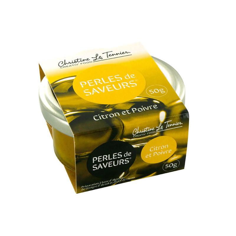 Perles de citron poivre - 50g