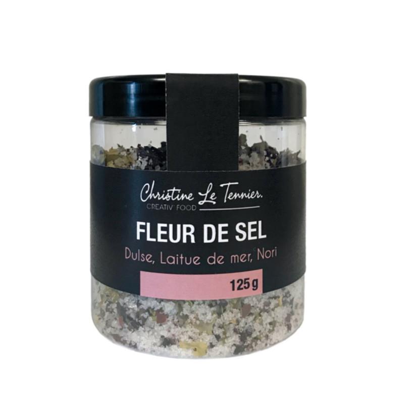 Fleur de sel aux aromates de la mer - 125g