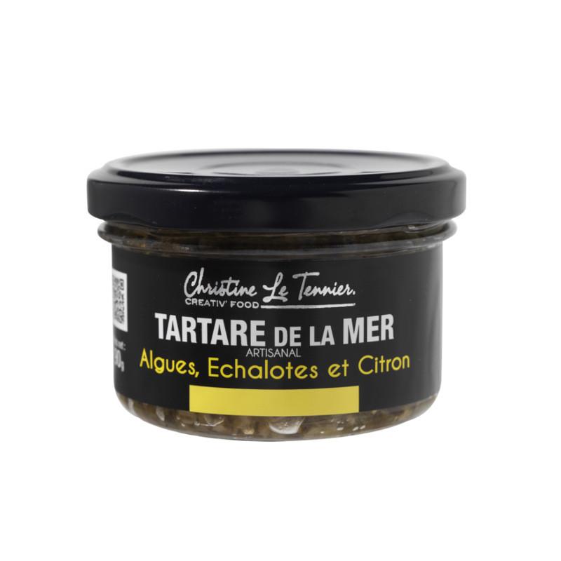 Tartare d'algues échalotes & citron - 90g