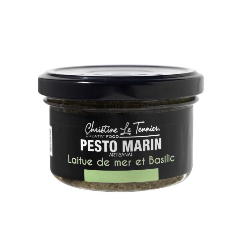 Pesto marin laitue de mer et basilic - 90g