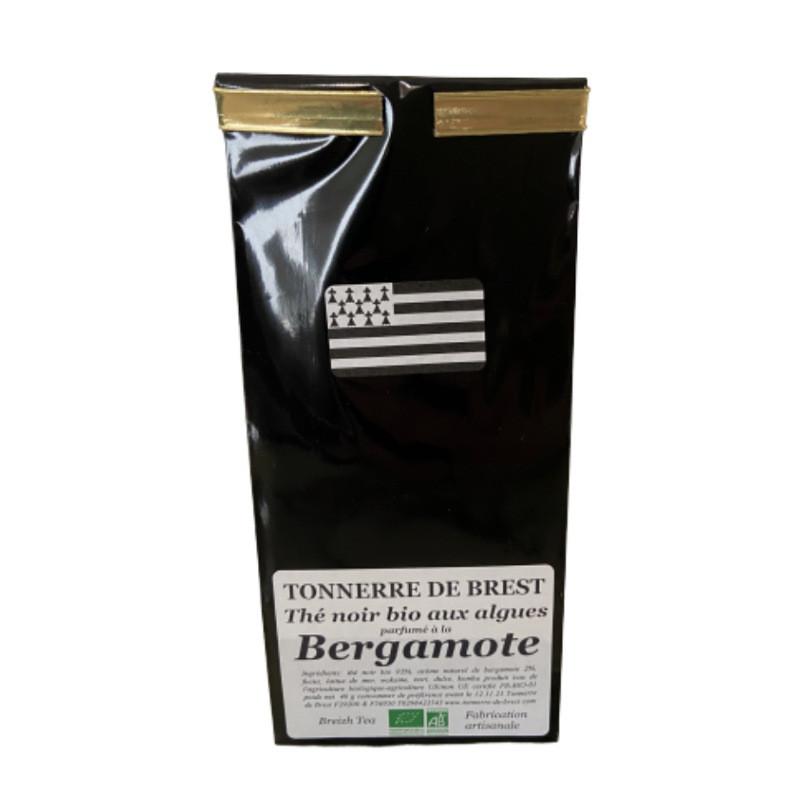Thé noir BIO aux algues et à la bergamote - 40g