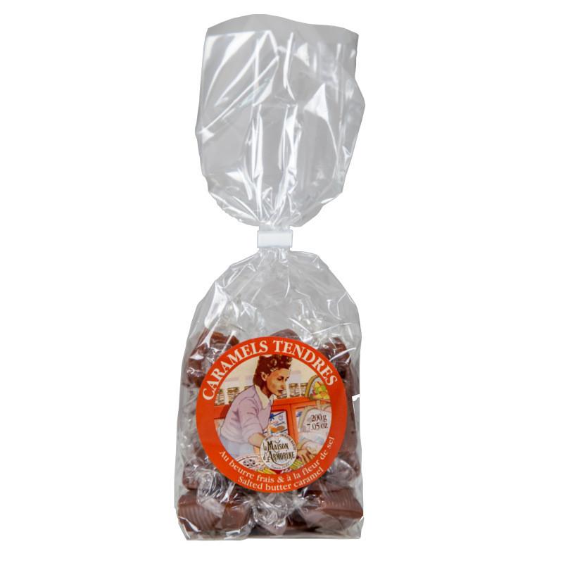 Sachet de caramels au beurre salé - 200g