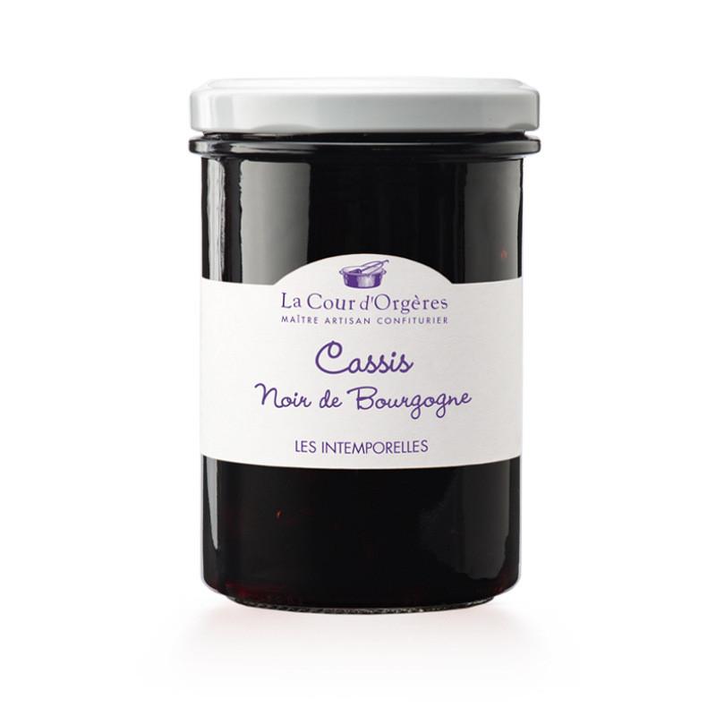 Confiture de Cassis noir de Bourgogne - 250g
