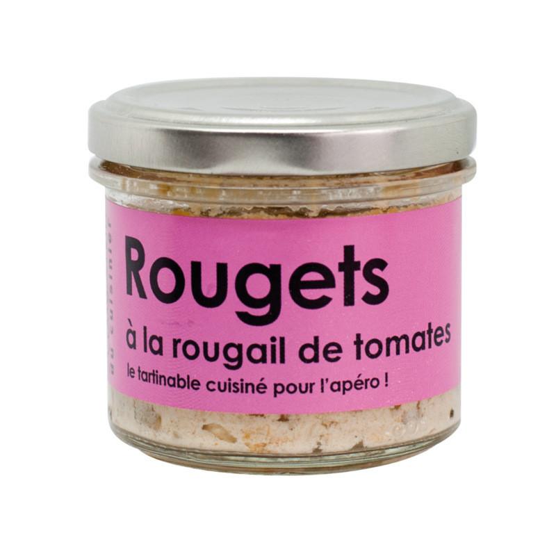 Tartinables de rouget à la rougail de tomates - 80g