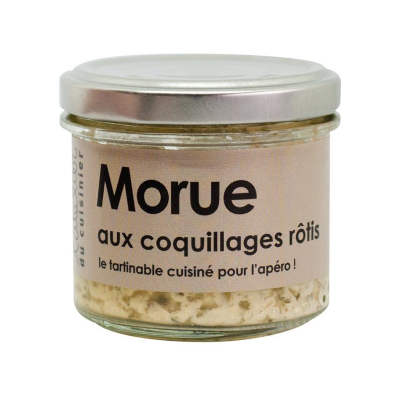 Tartinable de morue aux coquillages rôtis - 80g