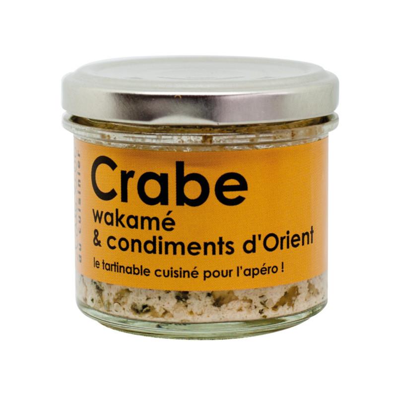 Tartinable de crabe wakamé et condiments d'Orient - 80g