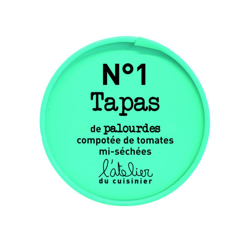 N°1 Tapas de palourdes, compotée de tomates séchées - 100g
