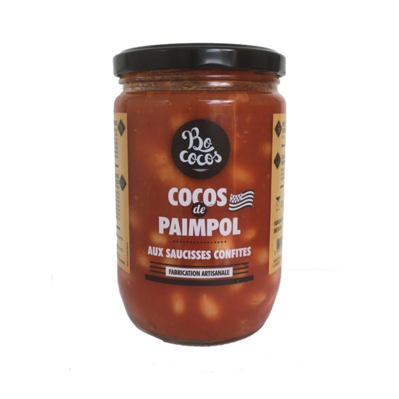 COCOS DE PAIMPOL AUX SAUCISSES CONFITES - 600g