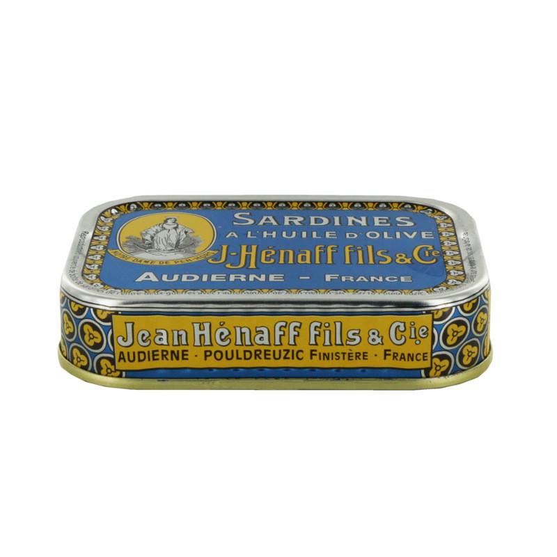 Sardines à l'huile d'olive Hénaff - 115g
