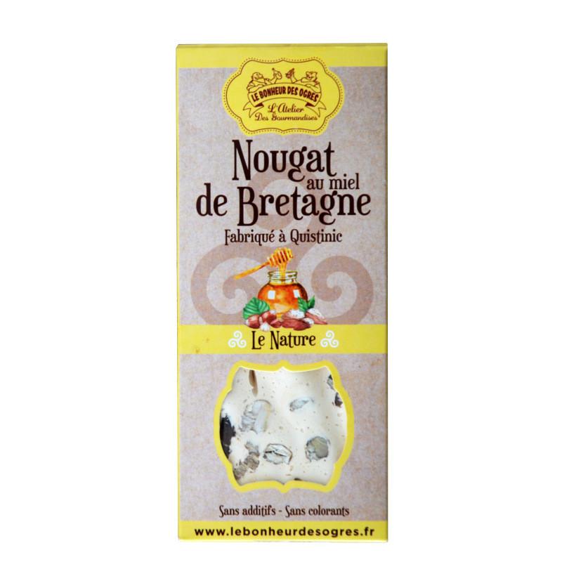 Nougat au miel de Bretagne - 80g