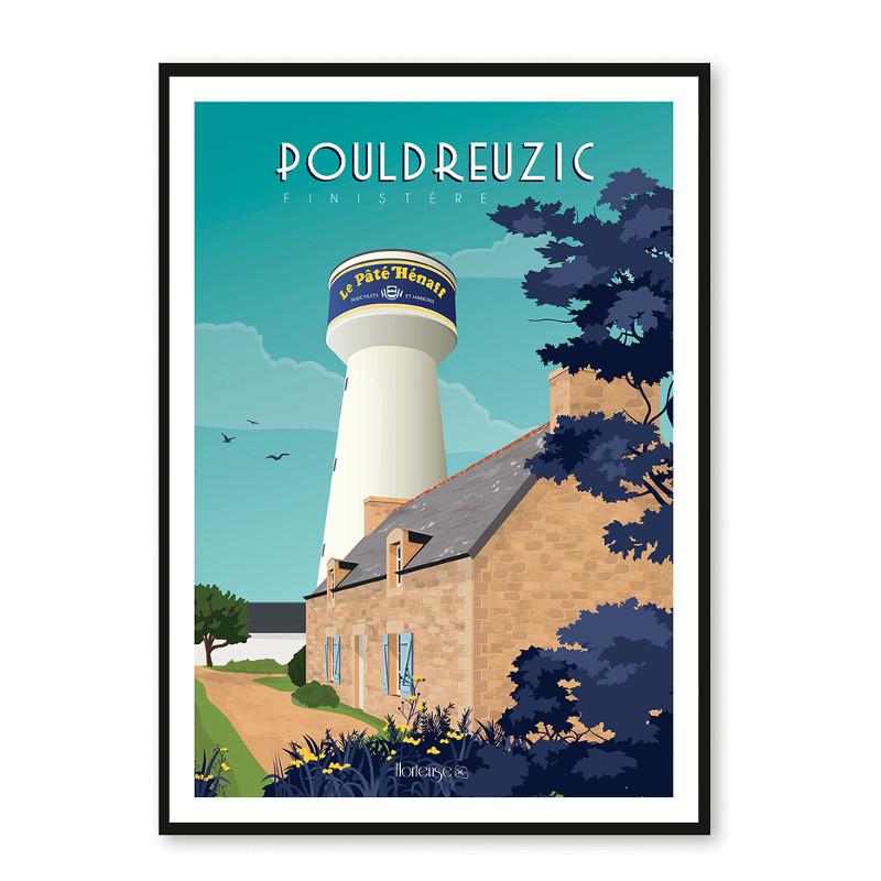 Affiche Hénaff Château d'eau Pouldreuzic
