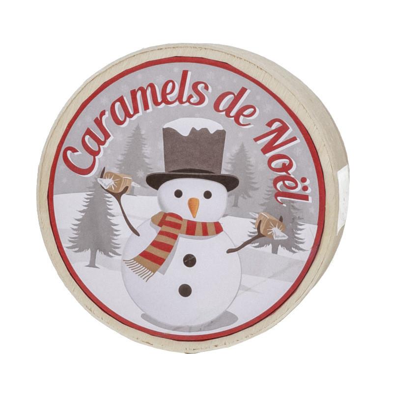 Mini boîte Caramels de Noël - 50g