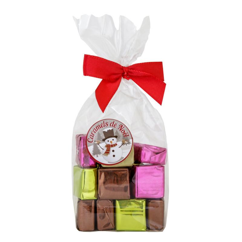 Sachet caramels de Noël - 150g