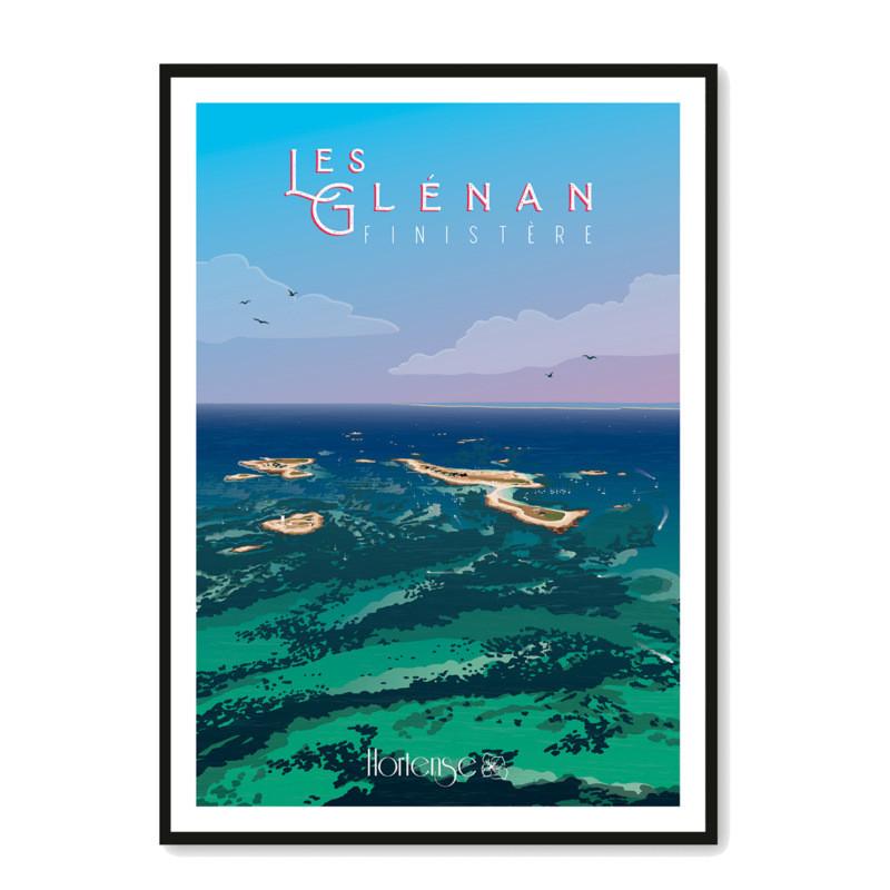 Affiche Les Glénan