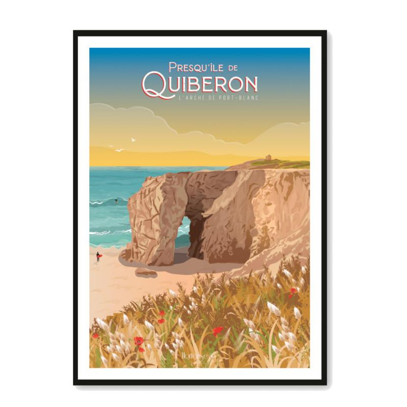 Affiche Arche de Port Blanc Quiberon