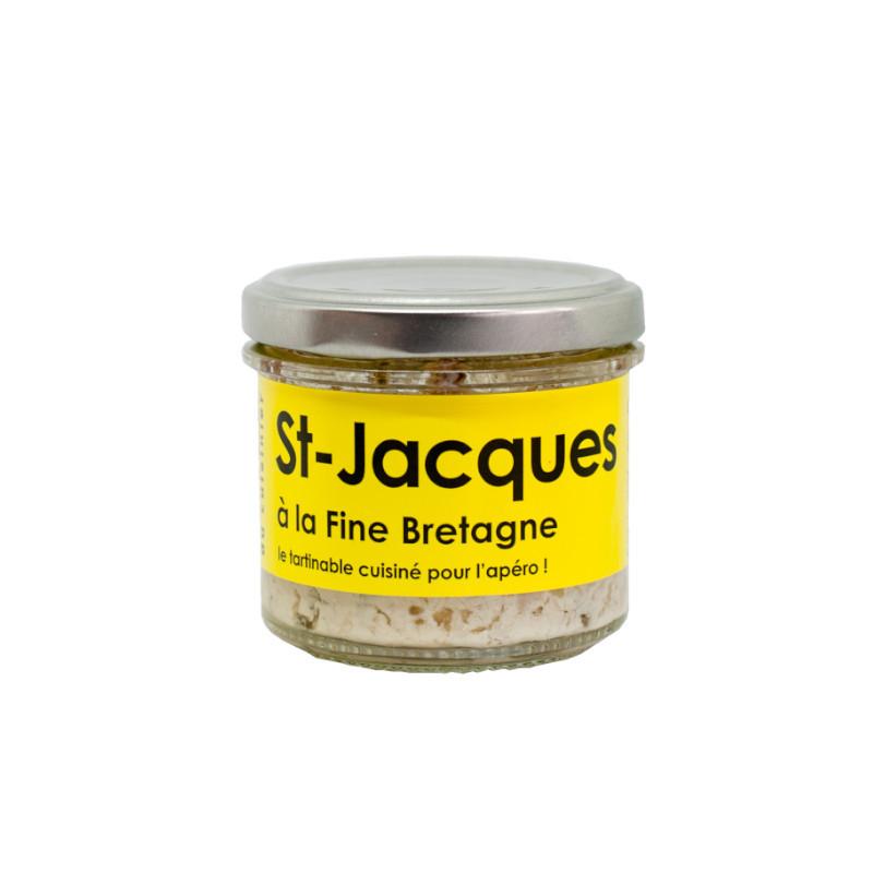 Tartinable de St-Jacques à la Fine Bretagne - 80g