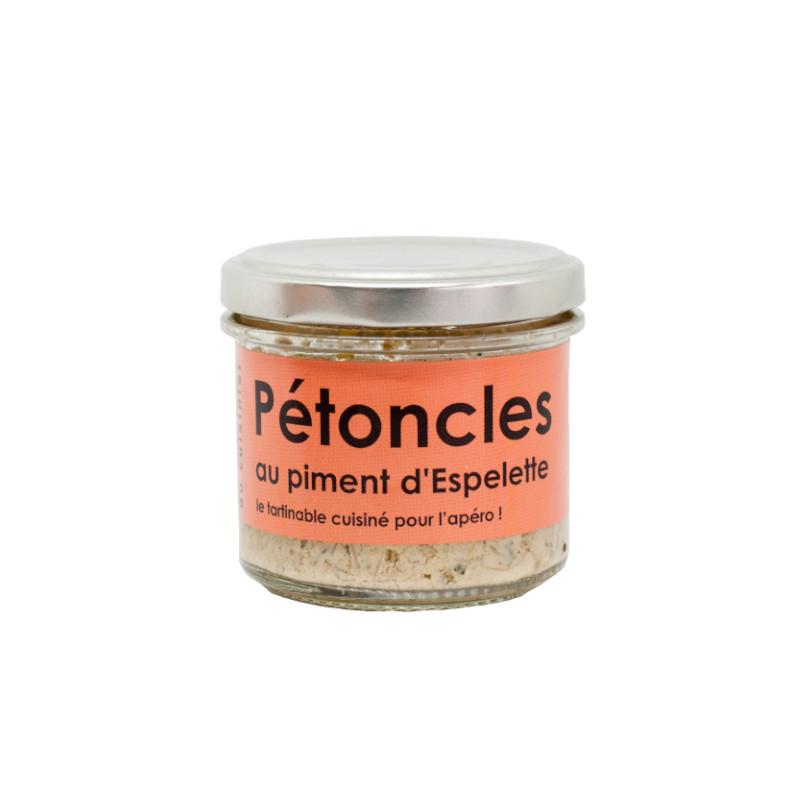 Tartinable de Pétoncles au piment d'Espelette - 80g