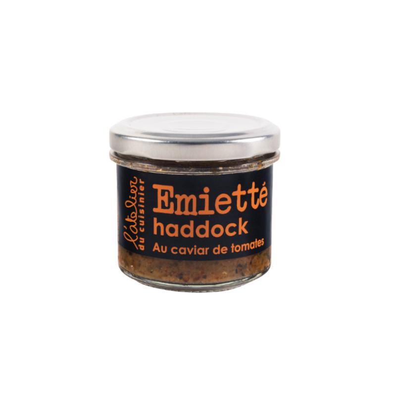 Emietté de haddock au caviar de tomates - 90g