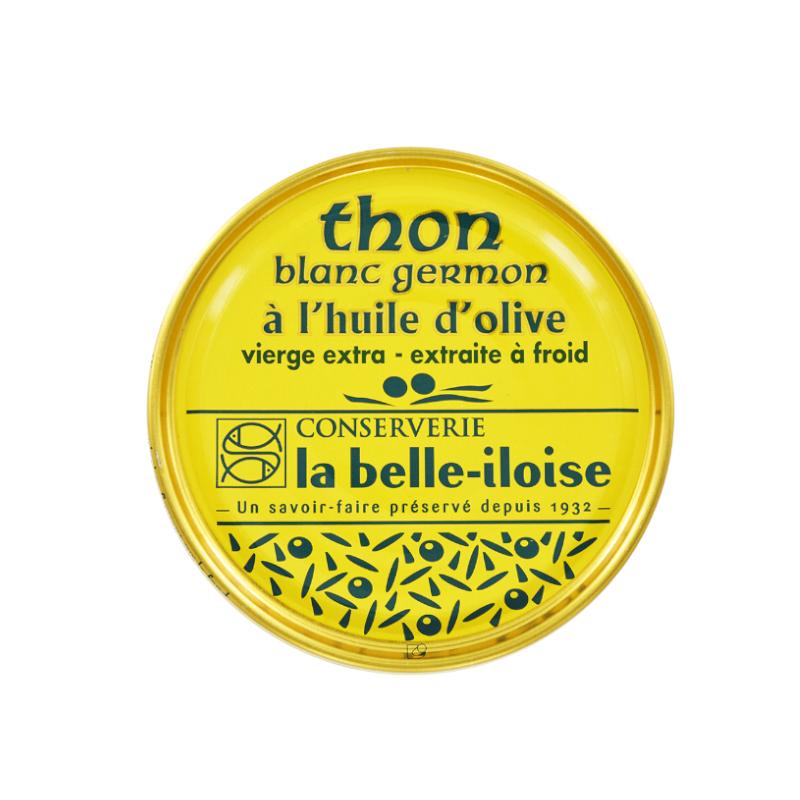 Thon blanc germon à l'huile d'olive vierge extra 160 g