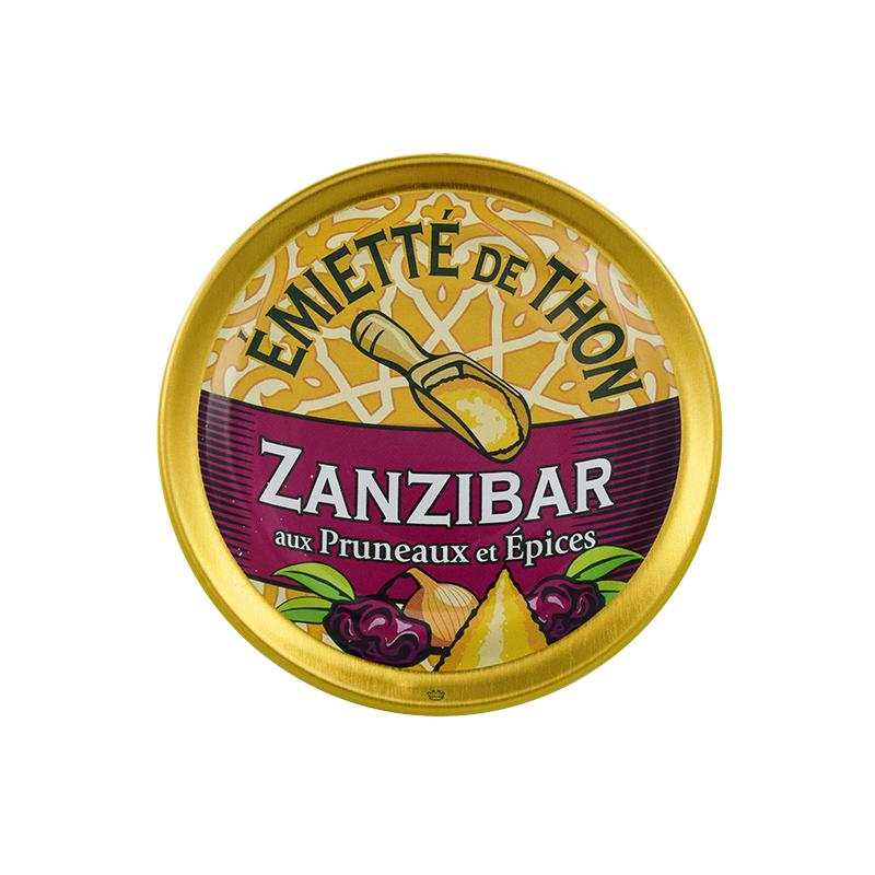 Emietté de thon aux pruneaux et épices - ZANZIBAR - 80 g