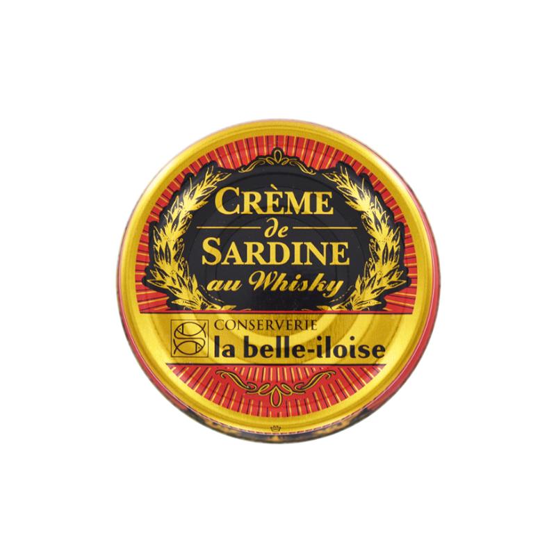 Crème de sardine au whisky  60 g