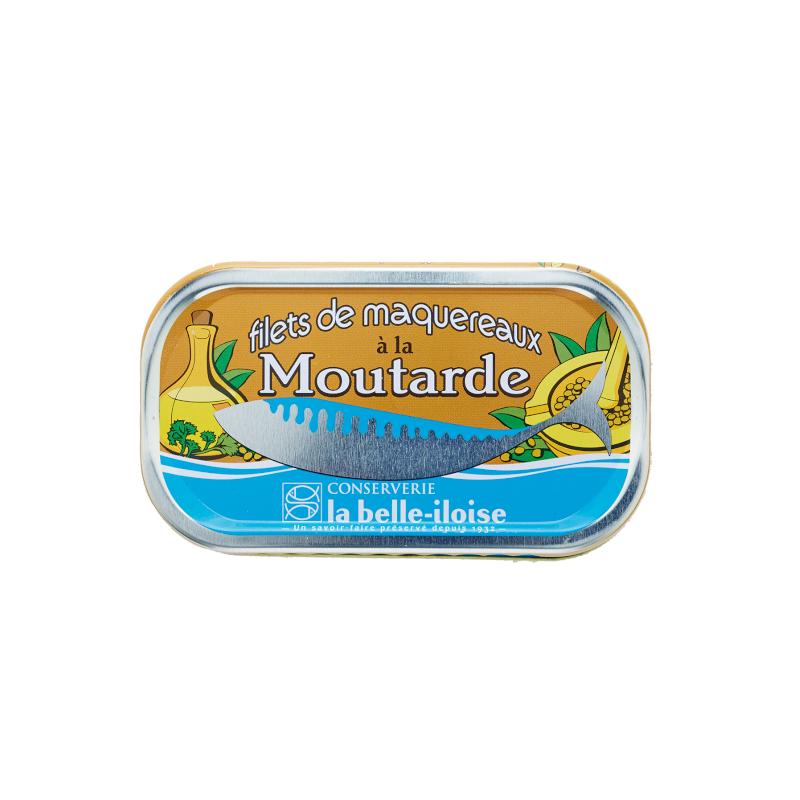 Filets de maquereaux à la moutarde 112,5 g