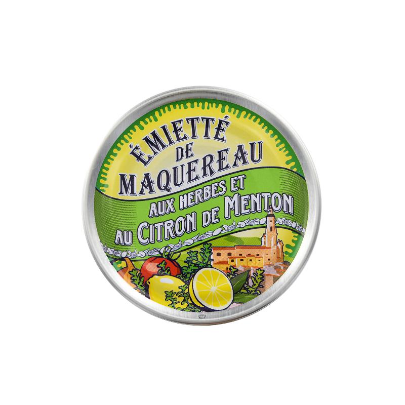 Emietté de maquereau aux herbes et au citron de Menton 80 g