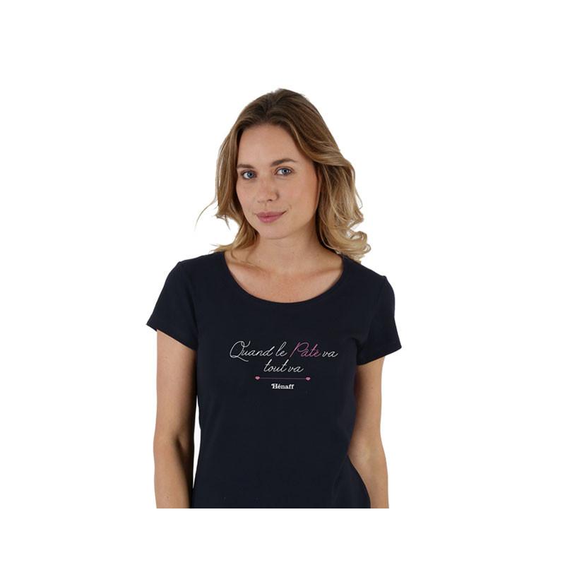 T-shirt Tout va Hénaff